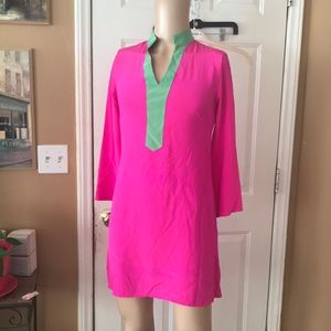 NWOT silk to sable dress